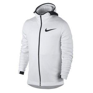 Nike Showtime Therma Flex Basketball White Hoodie